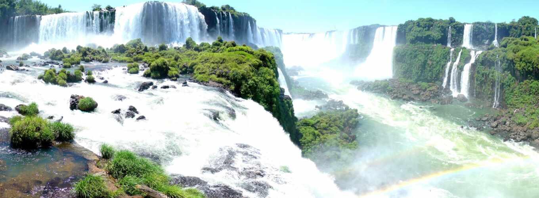 игуасу, falls, brazil, abyss, cataratas,