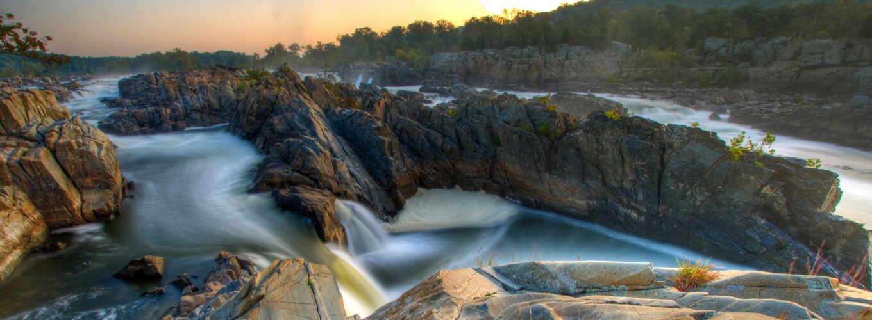 ,скалы,водопад,вода,река,