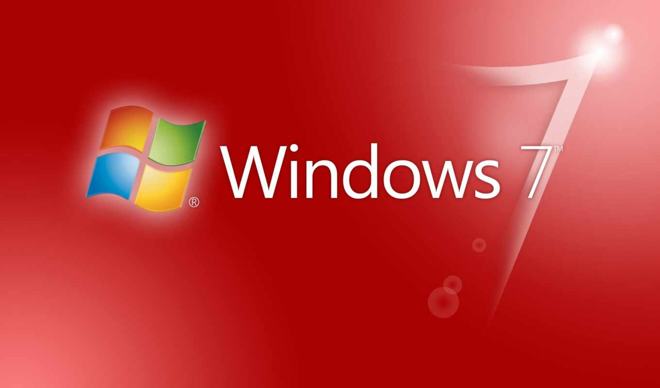 windows, se7en, red, logo