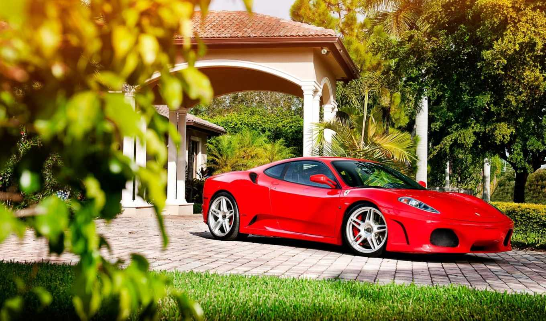 ferrari, машина, автомобили, red, нравится,