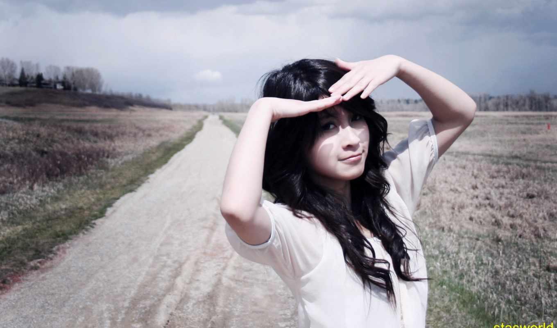 девушка, девушек, красивых, подборка, азиатка, summer, свет,