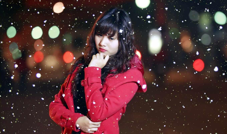 снег, девушка, stock, dating, images, views, xx, photos,