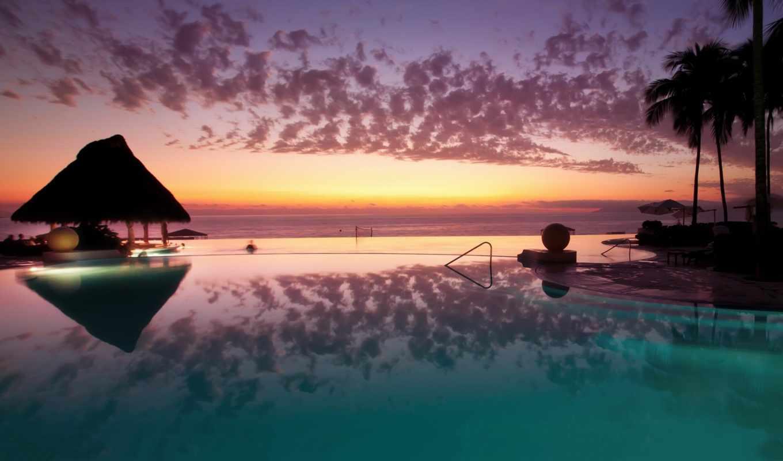 hoàng, hơn, tuyệt, ngắm, maldives, лунно, календарь, год, стрижка, закат