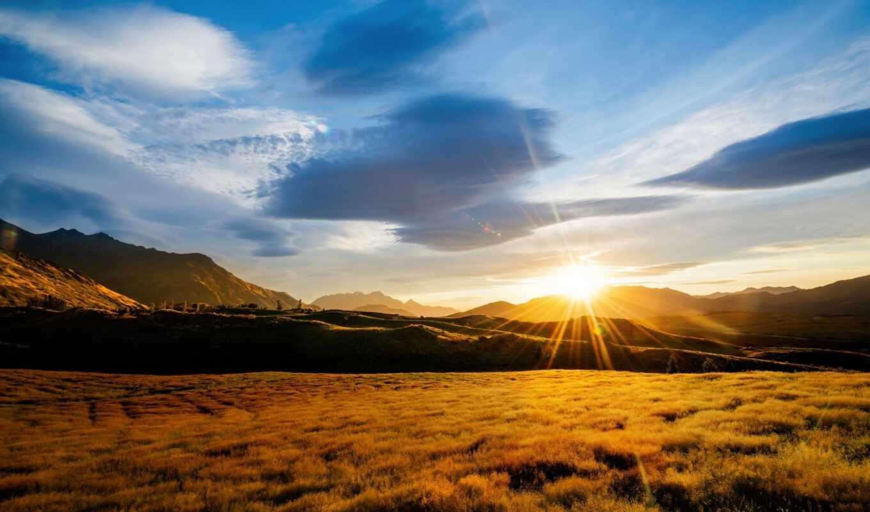 energy, new, zealand, гора