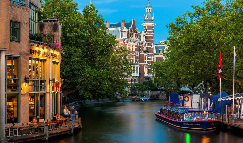 amsterdam, город, столица,