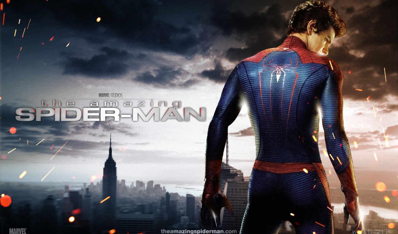 new, york, город, мужчина, паук, amazing,