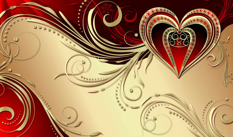 сердце, valentine, день, id, love, цветы