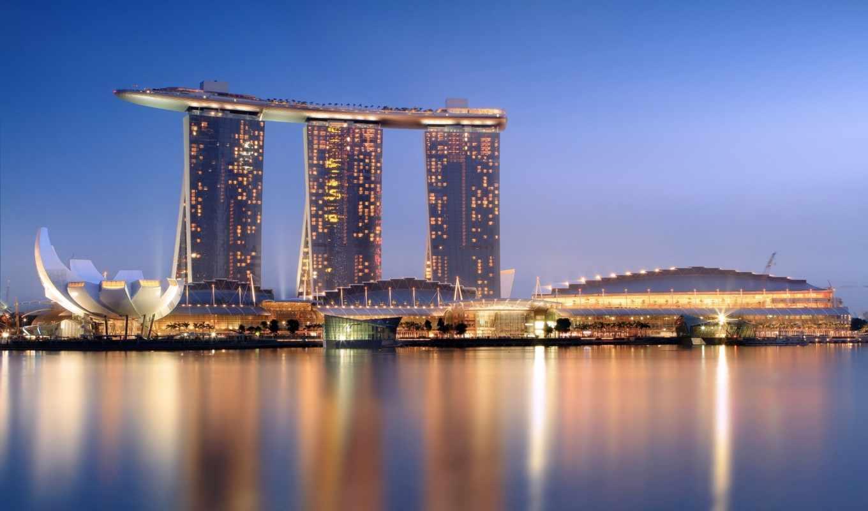 house, world, мост, hotel, самый, день, luxury, международный, singapore, картинка,