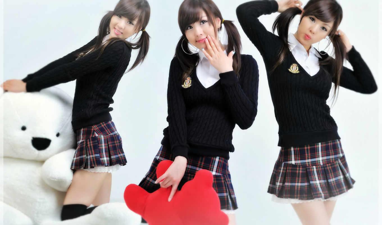 devushki, японии, школьниц, симпатичные, качественные, record,
