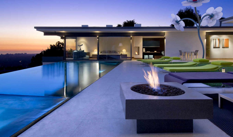 los, exterior, house, бассейн, luxury, дома, angeles, home, особняк,