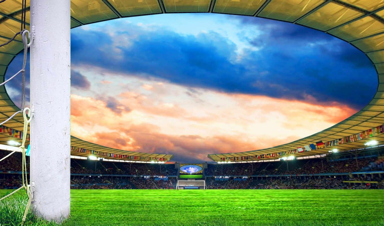 футбол, поле, спорт, футбольное, чемпионат,