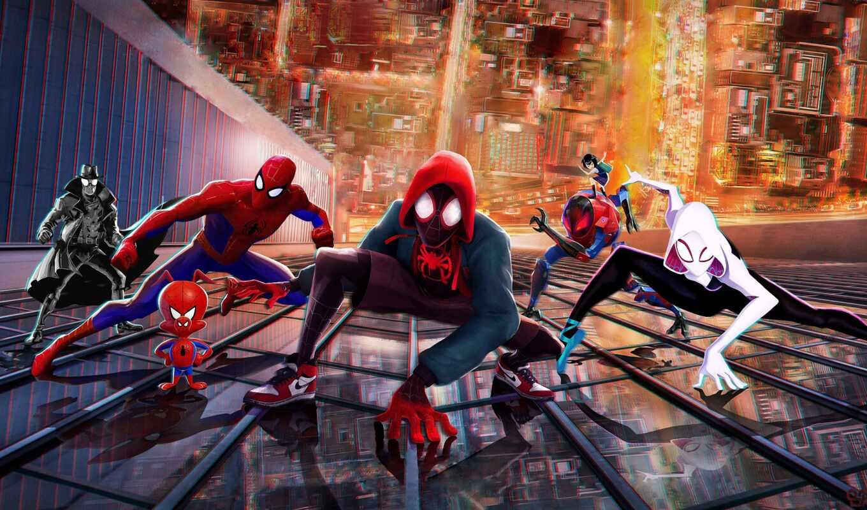 паук, мужчина, morale, mile, стих, parker, peter, into