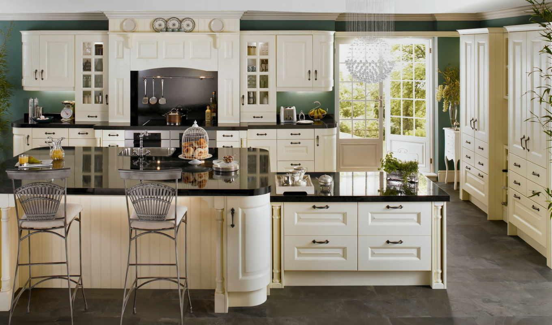 кухня, светлая, просторная