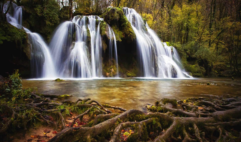 seven, водопад, india, sisters, waterfalls, dpi, уезд, водопады,