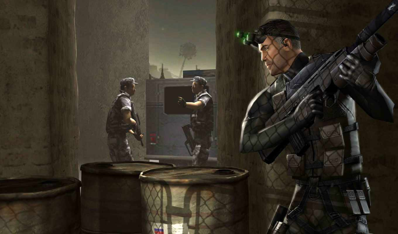 splinter, cell, fisher, sam, tom, clancy, download, video,
