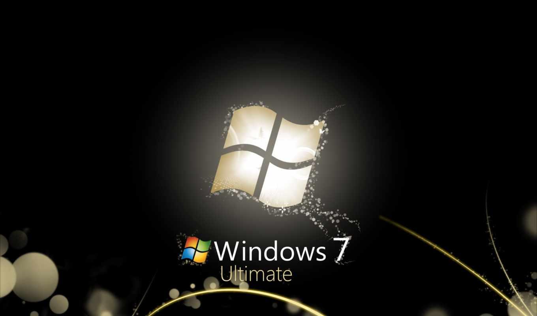 windows, ultimate, black, seven, style, computers, bright, microsoft,