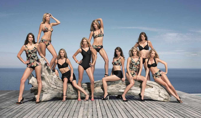 часть, girls, группа, æè, ipad, девушек, models, swimsuit, girl, широкоформатные, качественные, ultrahq,
