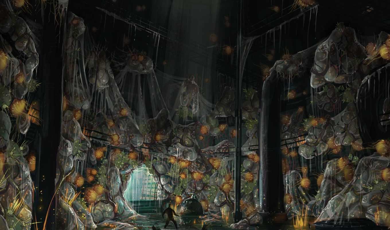 singularity, concept, ужас, art, games, artwork, video, action, fps,
