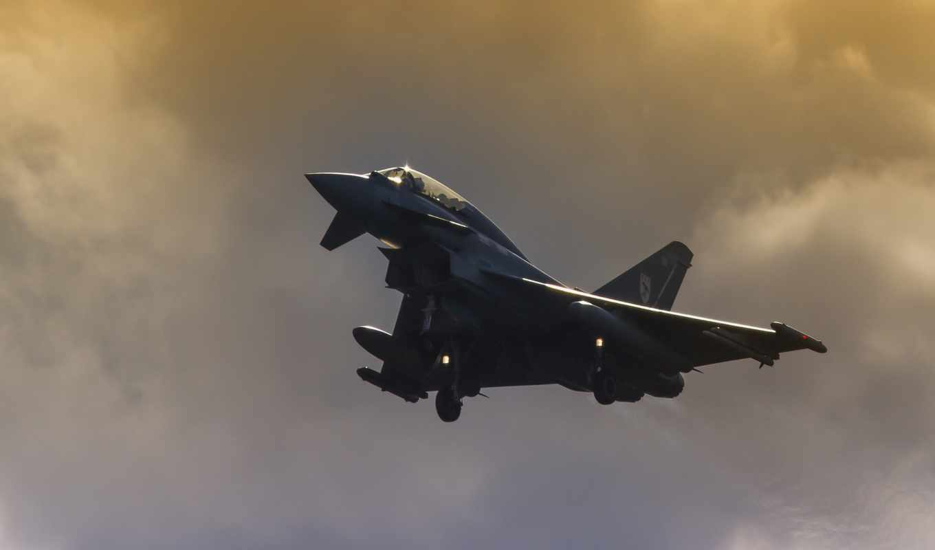 leuchars, typhoon, que, eurofighter,