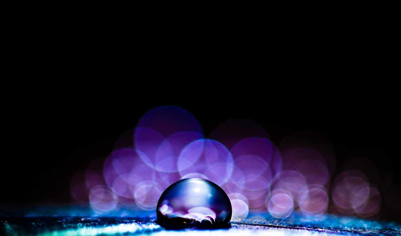 макро, капли, water, drop,