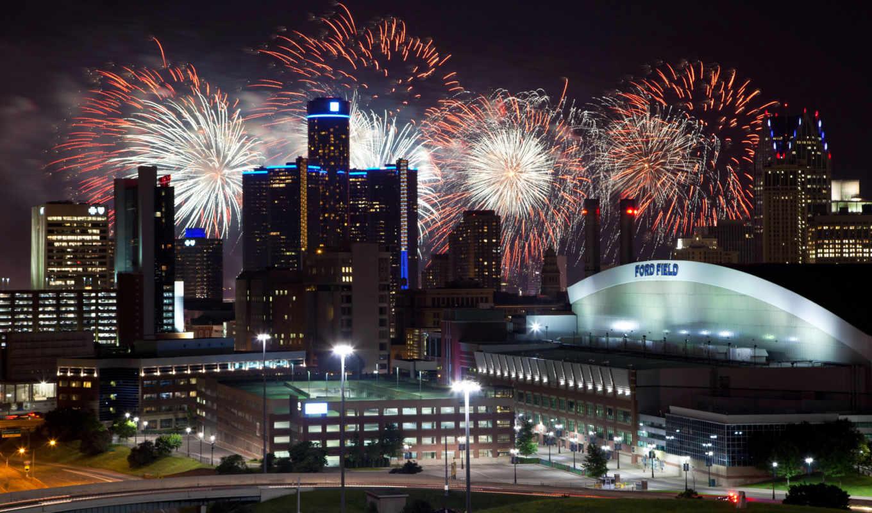 fireworks, ночь, singapore, огни, город, сша, new, июня,