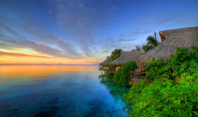 tahiti, острова, остров, природа, eden, архипелага,