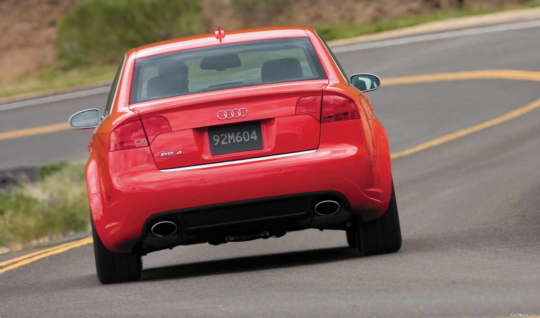 машина,ауди,красный,трасса,
