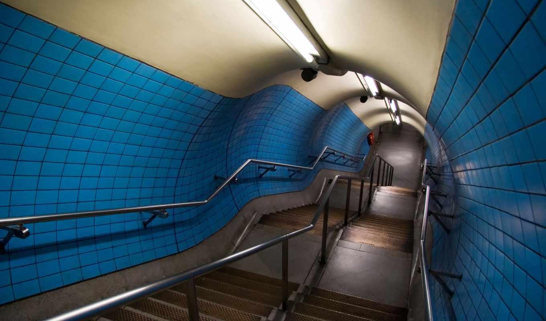 architecture, экрана, minus, перила, тунель, одним, файлом, лампы, ступени, stairways, tunnel, traumerwalls,