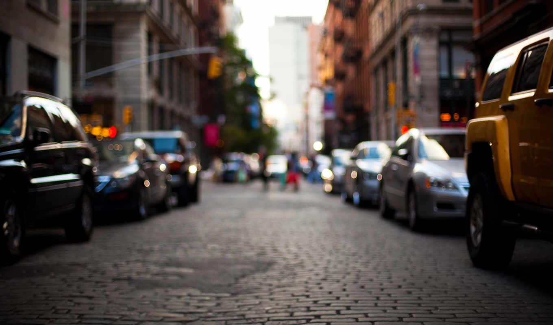 город, улица, машины, дорога, города, здания,