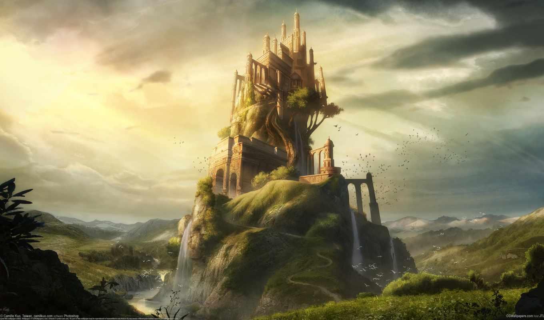 camille, kuo, горы, замок