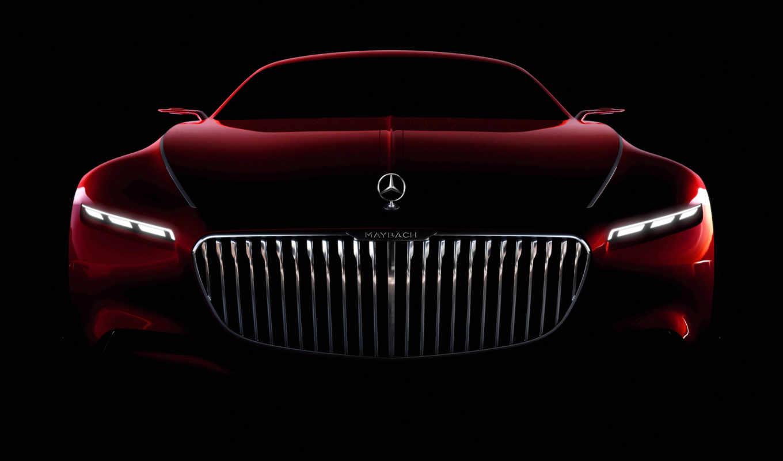 maybach, mercedes, vision, версию, coupe, получит, серийную, году, car, представят, литровый,