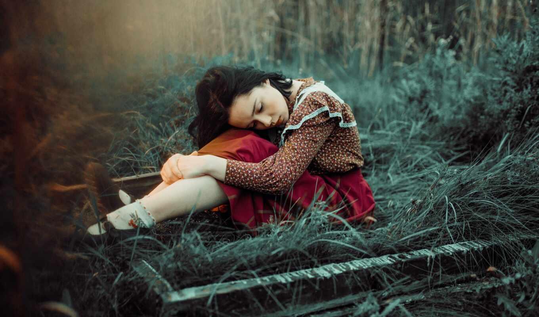 , девушка, растение, people in nature, человеческое тело,  дерево, солнечный свет, трава
