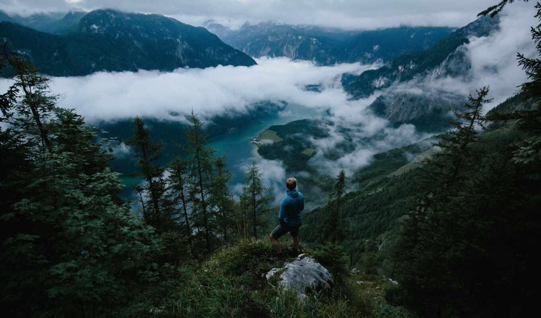 journey, human, tourist, many, гора