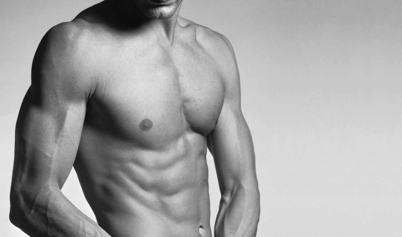 торс, мужчина, мышцы, тело, пресс, вены,