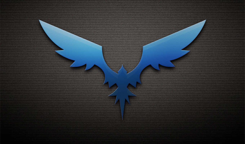 птица, phoenix, dark, крылья,