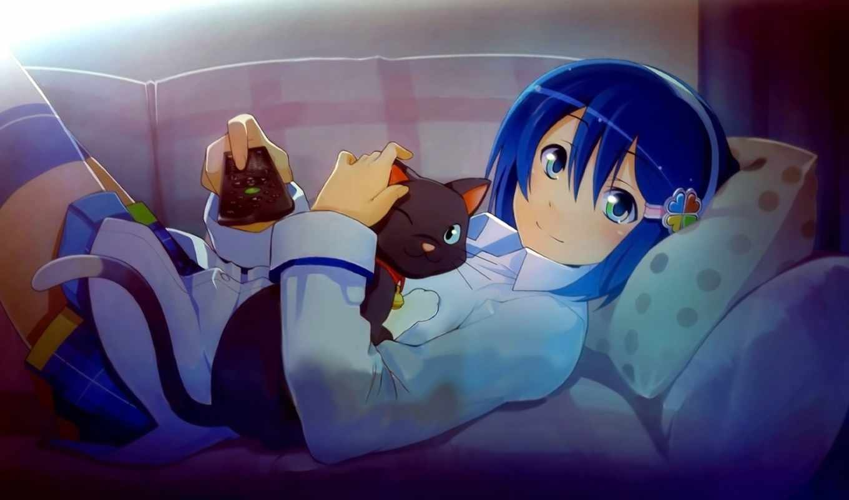 anime, windows, nanami, арты, madobe, понравилось, оц, загар, темы,