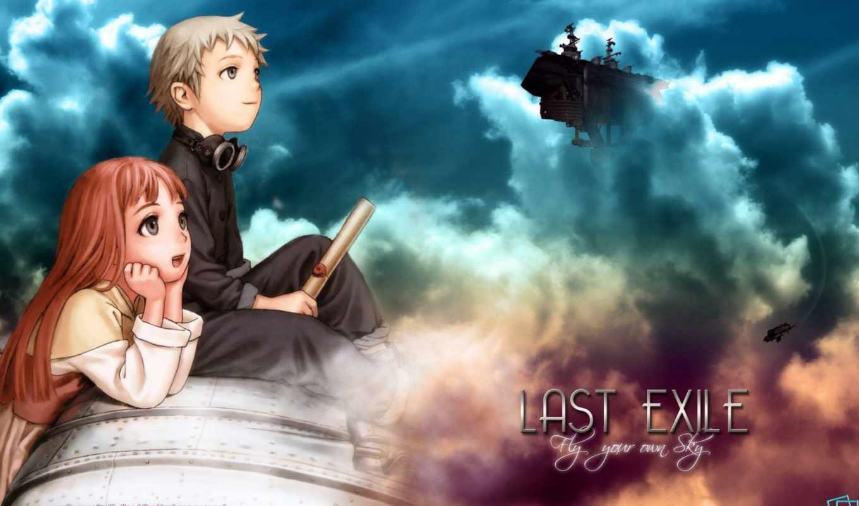 последний, exile, anime, военный,