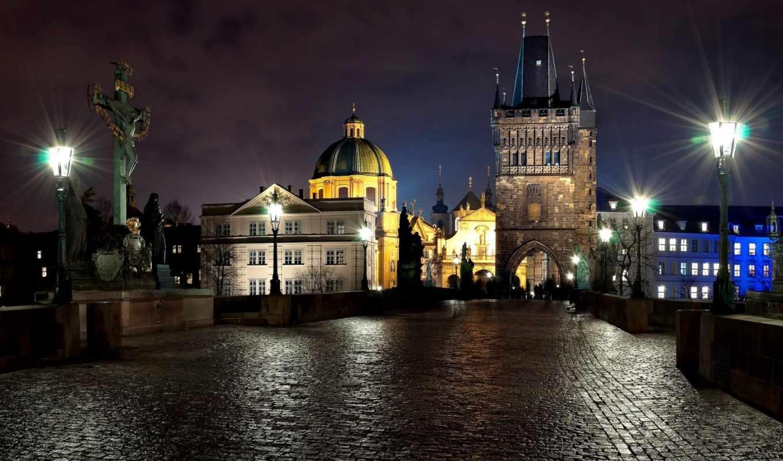 prague, тур, скидка, города, чехия, ночь, фонари, тротуар, грн, arhitektura, посещением, дрездена, без, от, republic, чехию, картинку,