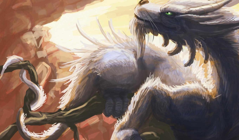 дракона, дракон, драконы, рога,