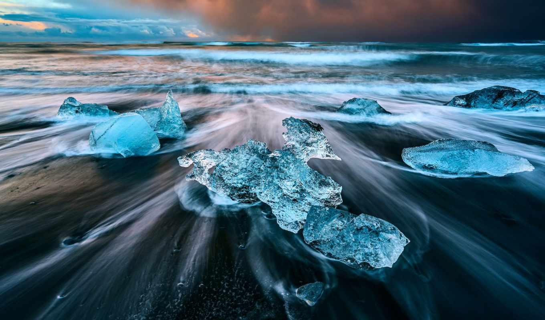 янв, заставки, ледниковая, laguna, исландия,