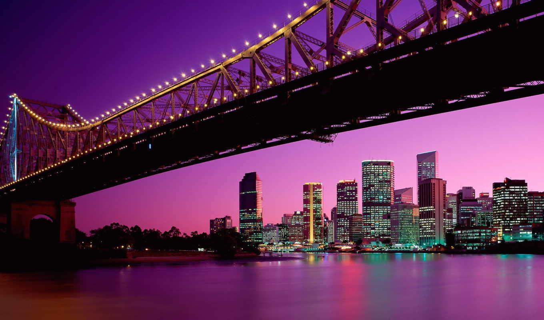 австралия, мост, brisbane, квинсленд, story,