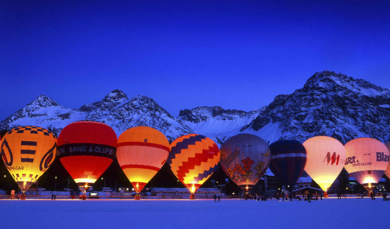 шары, воздушные, дек, balloon, разноцветные, небо, альбома,