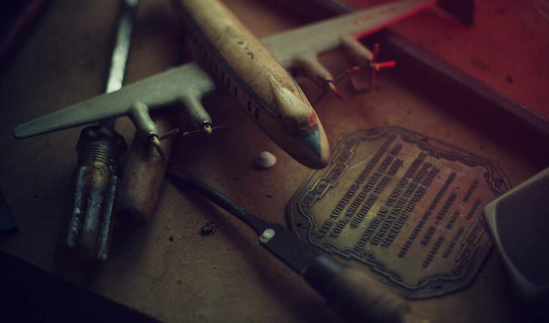 мастерская, tools, модель, plane, дерево, stuff, окно, фото,