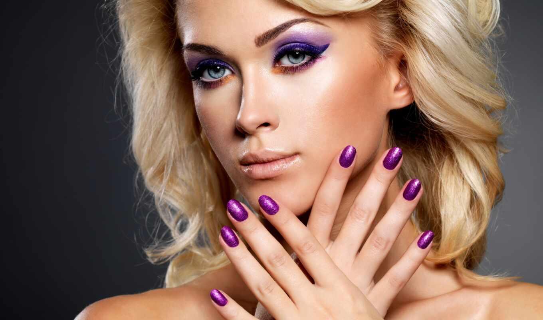 nail, красивый, маникюр, женщина, almide, девушка