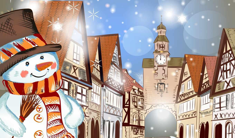 new, год, winter, christmas, merry, снег,