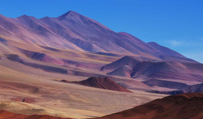 пустыня, аргентина, гора, northern, south, verde, america, аргентина