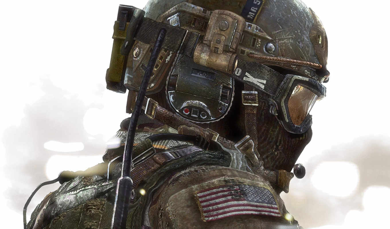 call, duty, modern, warfare, солдат, шлем, игры, картинка,