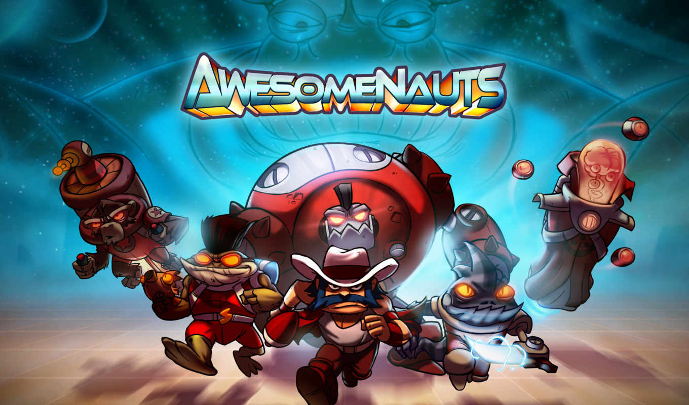 awesomenauts, игры, video, game, игр, обзор,