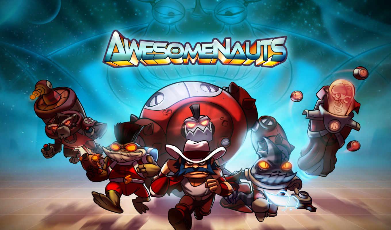 awesomenauts, игры, video, game, игр, обзор,
