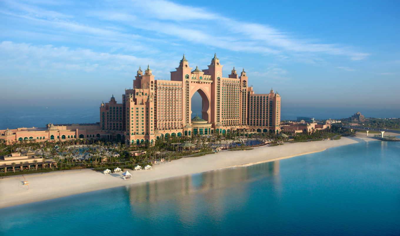 palm, jumeirah, оаэ, атлантис, пляж, dubai, hotel, туры,